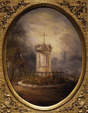 Mausoleo de Francisco de Goya en Burdeos - Cuadro