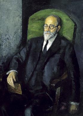 Retrato de D. Elías Tormo - Cuadro