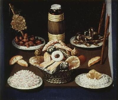 Bodegón (con dulces) - Cuadro