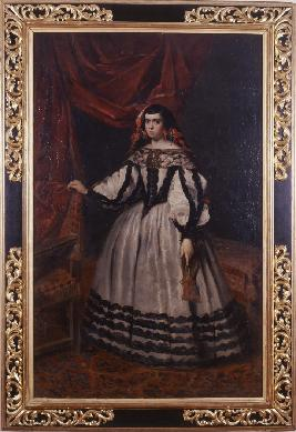 Image from object titled Retrato de la Duquesa de Híjar - Cuadro