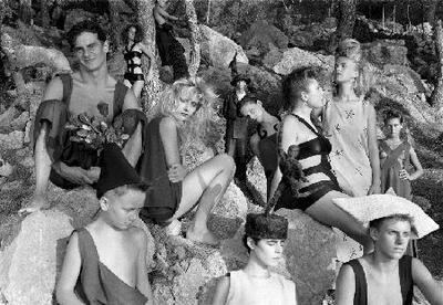 Personajes del bosque - Fotografía