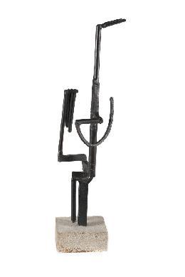 Personnage dit Femme au miroir - Escultura
