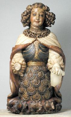 Ángel Custodio de Zaragoza - Estatua
