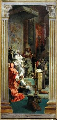 Boceto de altar para el templo de San Francisco el Grande de Madrid - Cuadro