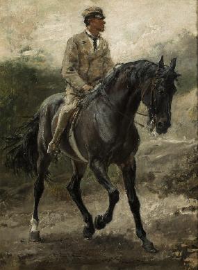 Caballo arabe del Conde Bobrinski - Cuadro
