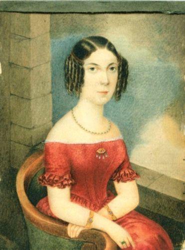 Portretul unei tinere femei