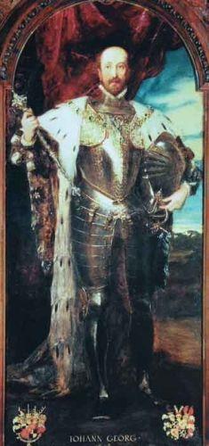 Portretul lui Johann Georg, principe de Hohenzollern