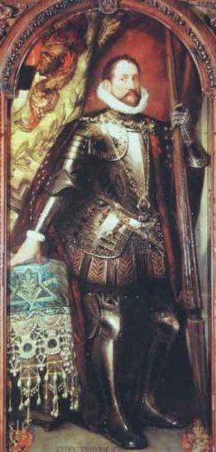 Portretul lui Eitel Friedrich VII, Conte de Hohenzolern-Hechingen