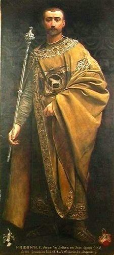 Portretul lui Friedrich I, Conte de Zollern