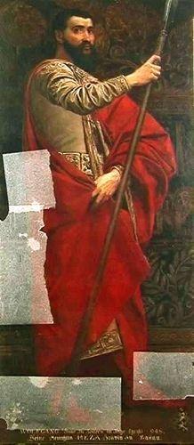 Portretul lui Wolfgang, Conte de Zollern