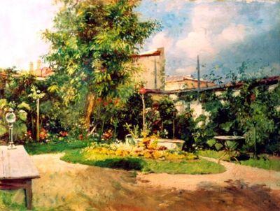 În grădina artistului