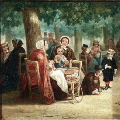 Scenă într-un parc