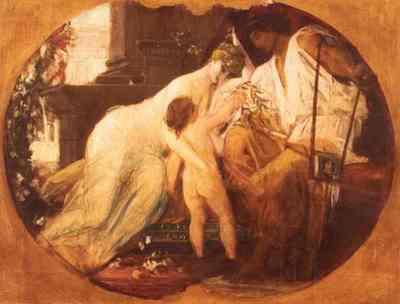 Scenă mitologică