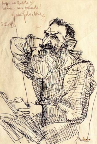 Portretul scriitorului Gala Galaction