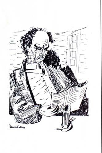 Portretul scriitorului N.D. Cocea