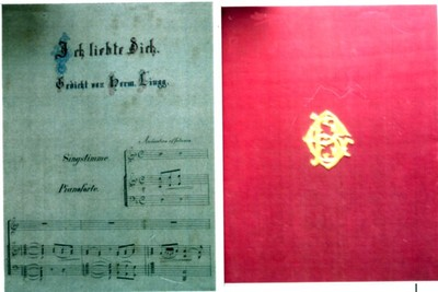 Nocturne; Ich liebte dich - voce și pian