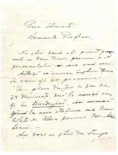 Gavriil Musicescu către Simion Florea Marian