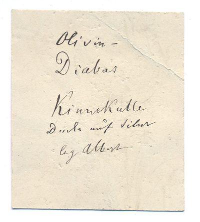 Basalt; Olivindiabas; Diabas