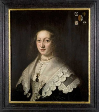 Portret van Maria van Hogendorp (?-1659)