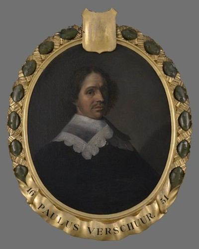 Image from object titled Portret van Paulus Verschuer (1606-1667)