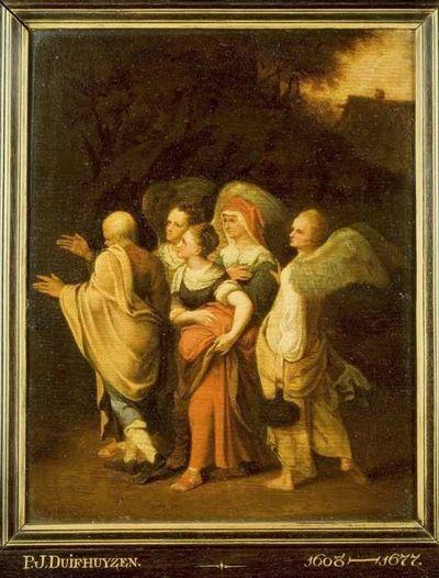 Lot en zijn dochters