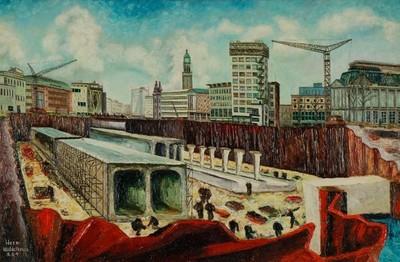 Image from object titled Aanleg van de metrolijn Coolsingel