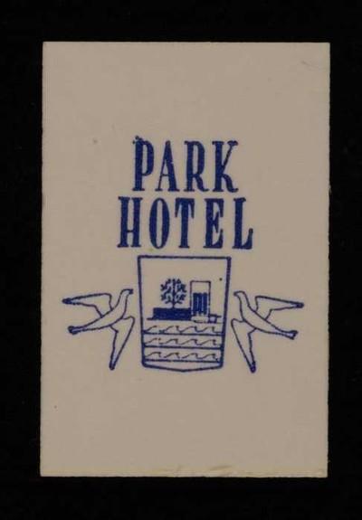 Image from object titled Wit, kartonnen label VAN NELLE'S VICTORIA THEE, 1 theezakje, voor Park Hotel