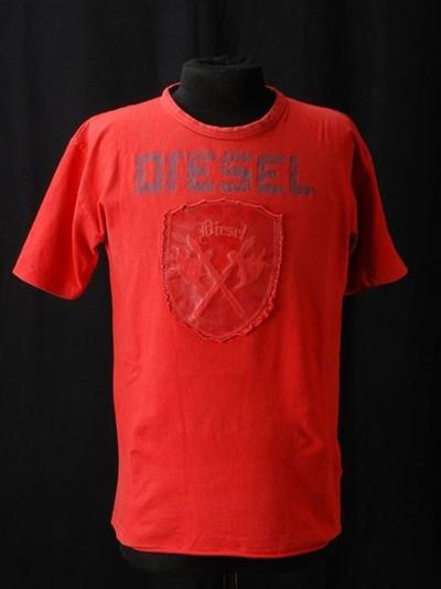 Rood t-shirt, merk Diesel, maat M