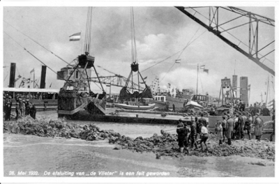 Afsluitdijk, De laatste struiptrekkingen.