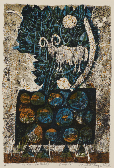 Image from object titled Symbols of Passover (The Ram)