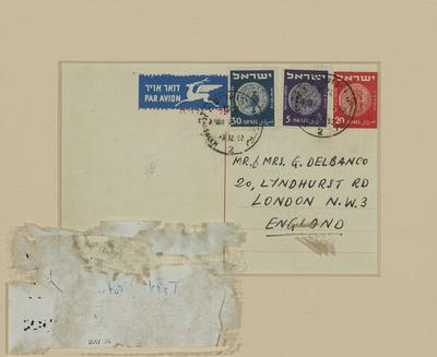 Verso of a Postcard