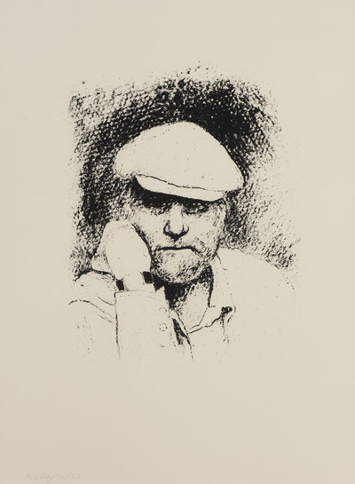 Self-Portrait with Cap