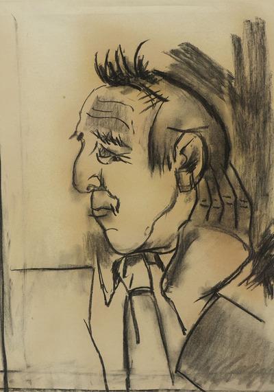 Portrait of Avram Stencl