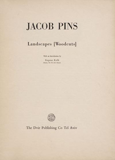Landscapes Portfolio, title page (6 of 9)
