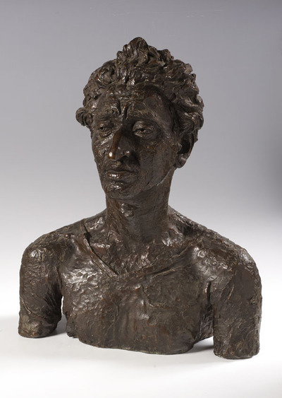 Image from object titled Bust of Jacob Kramer