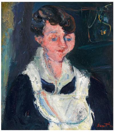 La Soubrette (Waiting Maid)