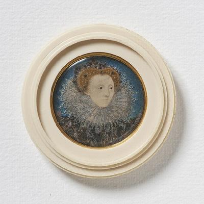 Elizabeth I (1533-1603),Queen of England, c. 1586-87