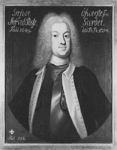 Arvid Knutsson Posse, 1689-1754