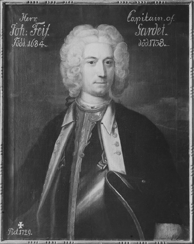 Image from object titled Johan Feif, 1682-1738