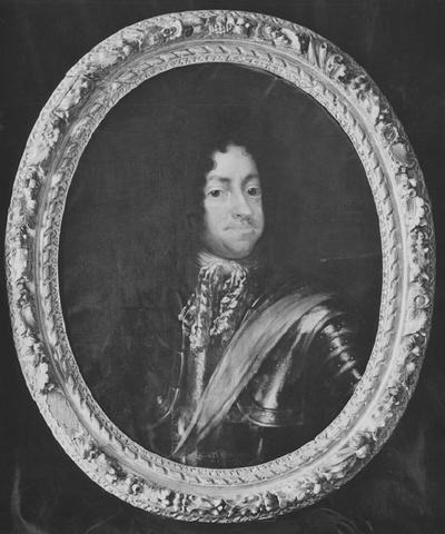 Image from object titled Kristian V, 1646-1699, kung av Danmark och Norge