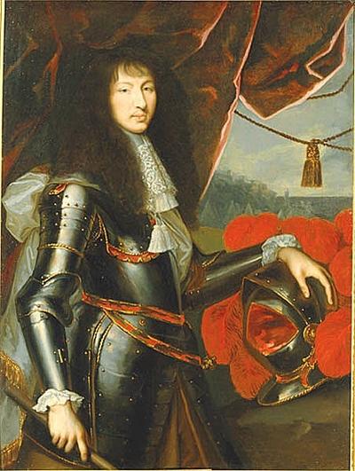 Ludvig XIV, 1638-1715, kung av Frankrike