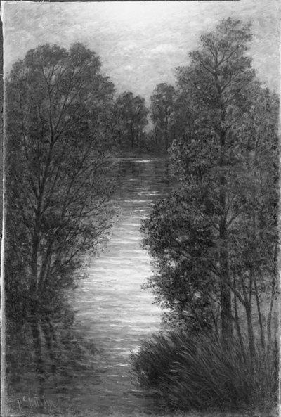 Landscape with Reflecting Water