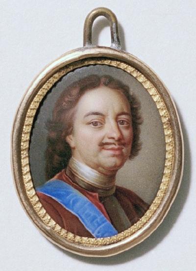 Peter I den store (1672-1725), tsar av Ryssland