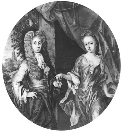 Francis, Second Earl of Godolphin, with whife