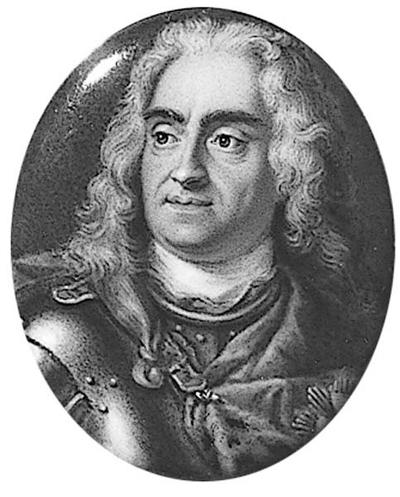 August II den starke (1670-1733), kurfurste av Sachsen, kung av Polen