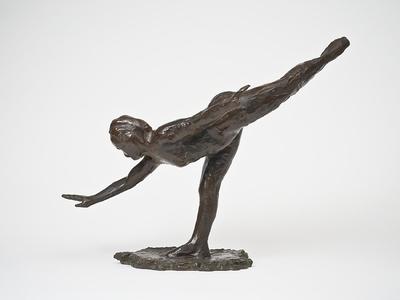 Rörelsestudie av dansös: stor arabesk, tredje positionen; Grande Arabesque