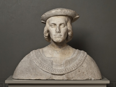 Portrait of young Sicilian Nobleman (jmfr med etikettmanus)