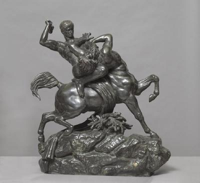 Theseus wrestling with the Centaur