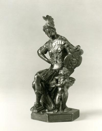Sitting Minerva with putto (trol. 1590-tal)