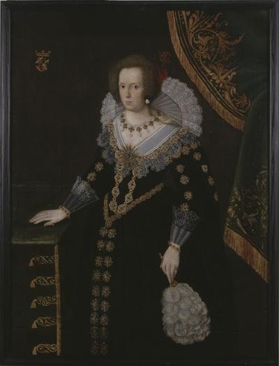 Okänd kvinna, tidigare kallad Sofia Gyllenhielm